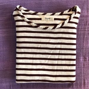 ⛵️⛵️MADEWELL setlist long sleeve stripe  tee⛵️⛵️